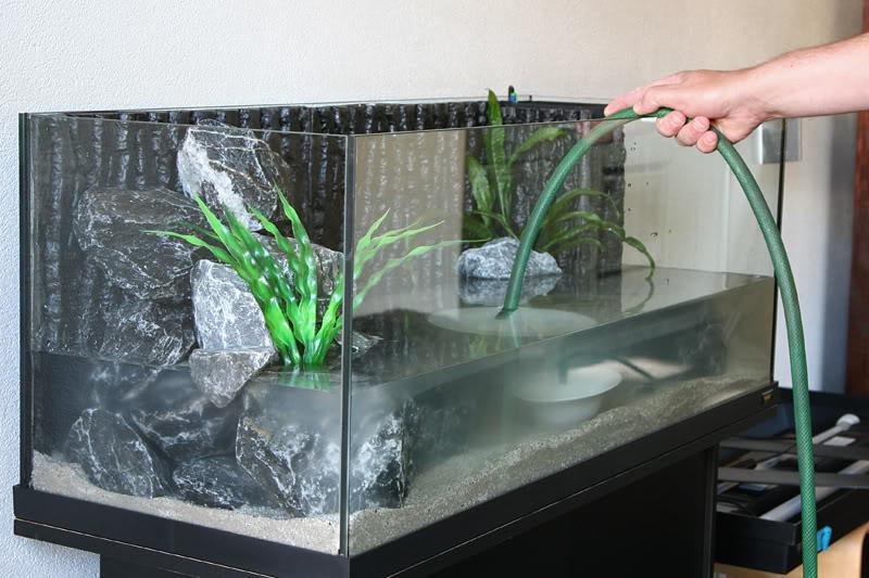 Aquarium vullen